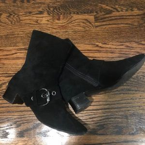 Etienne Aigner 'Mercer' Suede Ankle Boots